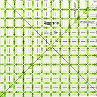 Omnigrip RN105 Non-Slip Quilter's Ruler, 10-1/2 x 10-1/2-Inch