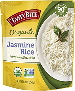 Tasty Bite Jasmine Rice 8.8 Ounce (Pack of 6), Thai Style Fragrant Jasmine Rice, Fully..