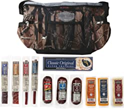 """Hunters Reserve """"Wild Game"""" Camo Cooler Bag with Assorted Premium Meats & Cheeses, 50 Ounce"""