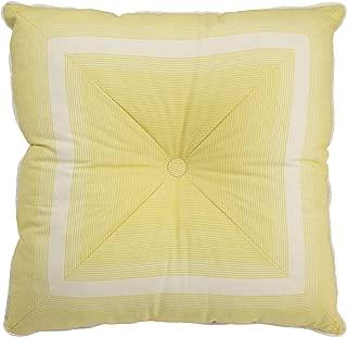 Waverly 15550020X020SPR Paisley Verveine 20-Inch by 20-Inch Tufted Stripe Decorative Pillow, Spring