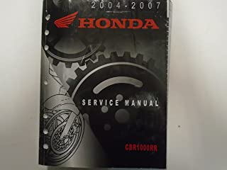 2004 2005 2006 2007 HONDA CBR1000RR Service Shop Manual Book OEM Book Used ***