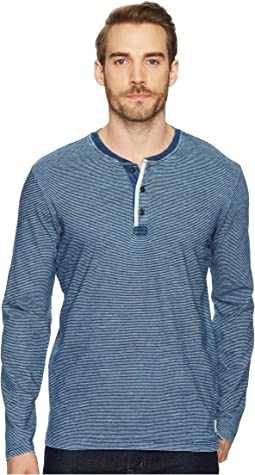 Lucky Brand - Long Sleeve Henley Shirt