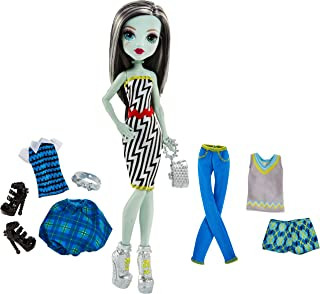 Monster High Lots of Looks Frankie Stein Doll + Fashions