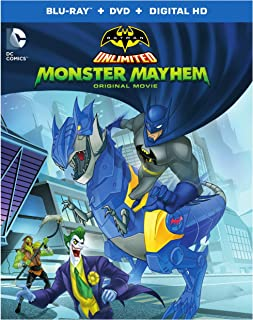 Batman Unlimited: Monster Mayhem (BD)