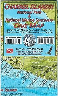 Channel Islands National Park & Marine Sanctuary Dive Map Waterproof Map by Frank Nielsen