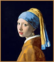 Orenco Originals Girl The Pearl Earring Detail Johannes Vermeer Counted Cross Stitch Pattern