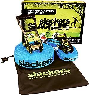 Schildkroet-Funsports Unisex's Slackers Classic Learline Set, Multi-Colour, Small