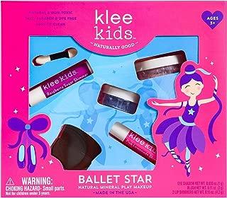 Luna Star Naturals Klee Kids Natural Mineral Makeup 4 Piece Kit, Ballet Star