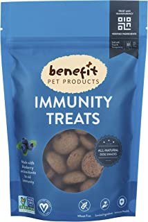 Sponsored Ad - Benefit Biscuits, All Natural Dog Treats, Certified Vegan, Non GMO, Wheat Free, Healthy Dog Biscuits, Made ...