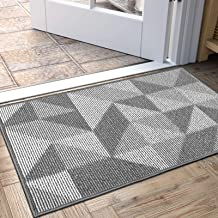 "Indoor Doormat, Non Slip Absorbent Resist Dirt Entrance Rug, 20""x32"" Machine Washable Low-Profile Inside Floor Door Mat"