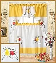 Amazon Com Fruit Kitchen Curtains