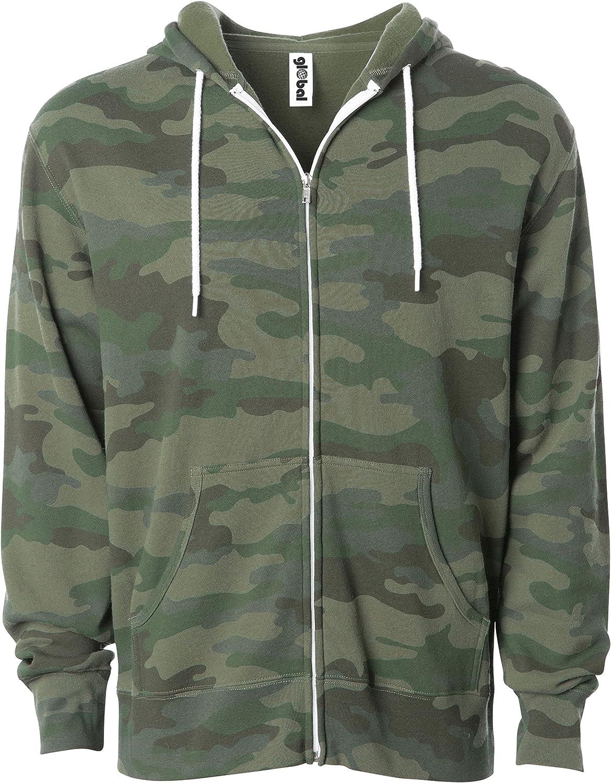 Global Slim Fit Lightweight Zip up Hoodie Men Women Hooded Sweatshirt