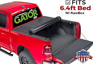 Gator HR1 Hard Roll-Up (fits) 2012-2018 Dodge Ram 6.4 FT w/RamBox ONLY Aluminum Roll Up Tonneau Truck Bed Cover 1547954 Made in The USA (Also Fits 2019 Classic/Legacy Models)