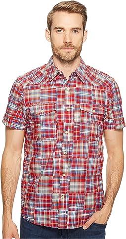 Patchwork San Berdu Western Shirt