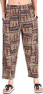 Trendy World Women's Track Pant Lowers Cotton Printed Pyjama/Lower Wear –Soft Cotton Night Suit Pyjami (Pack of 1)