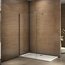 Amazon.es: mampara ducha fija - Mamparas de ducha / Duchas y componentes de la ducha: Bricolaje y herramientas