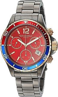 ساعة اوشينت كوارتز مع حزام من الستانليس ستيل، لون رمادي 20 (OC0534)