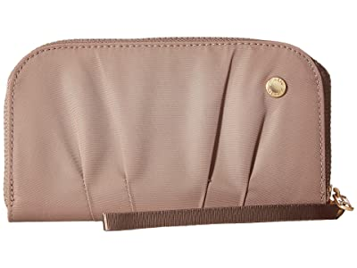 Pacsafe Citysafe CX RFID Wristlet Wallet (Blush Tan) Wallet Handbags