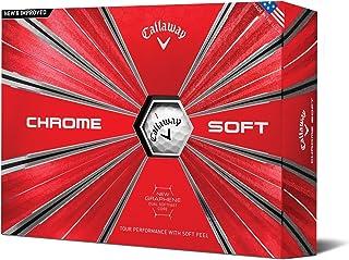 توپ گلف Callaway Golf Chrome توپ های گلف نرم (One Dozen)