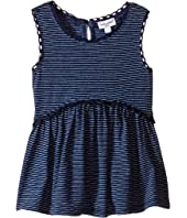 Splendid Littles - Inidgo w/ Lace Trim Swing Top (Infant)