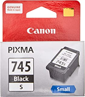 Canon PG-745S New Printer Ink Cartridge, Black