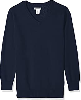 Boys' Uniform V-Neck Sweater