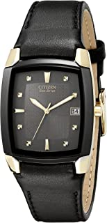 Citizen Men's BM6574-09E Eco-Drive Leather Watch