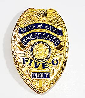 lapd detective badge replica