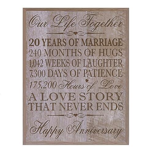 15th Year Wedding Anniversary Gift Amazon Com