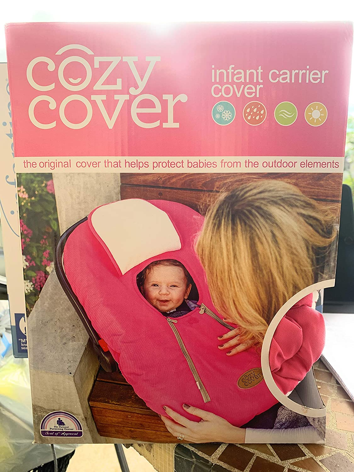 Cozy Cover Infant Carrier Cover