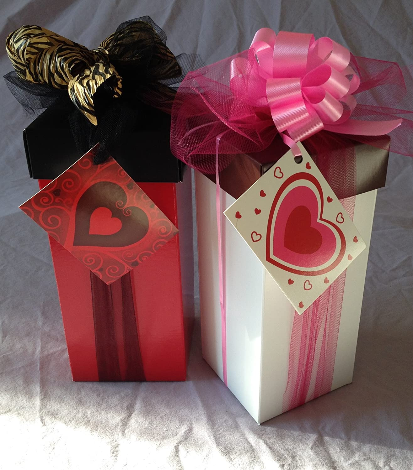 Valentine's Tall Tower of Chocolate Gift latest Set Cookie Miami Mall - Gourmet