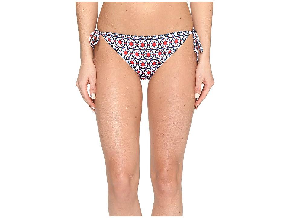 Tommy Bahama Geo Reversible String Bikini (Poppy Red) Women