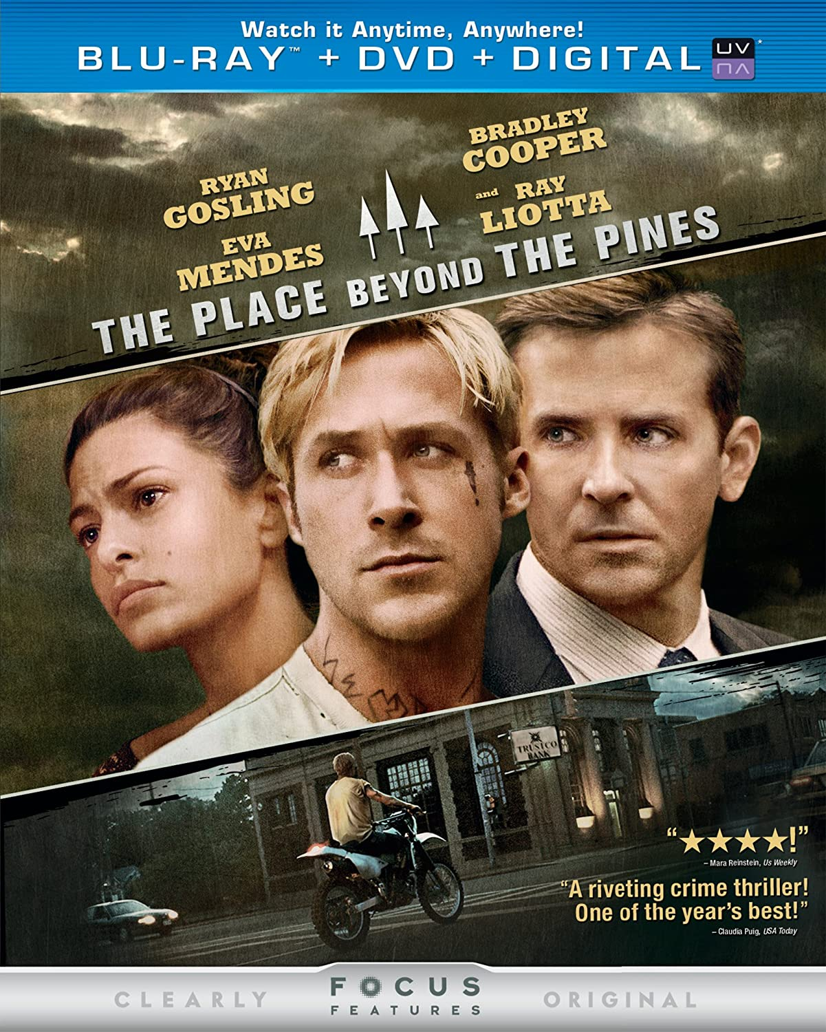 The Place Beyond the Blu-ray New Free Mesa Mall Shipping Pines