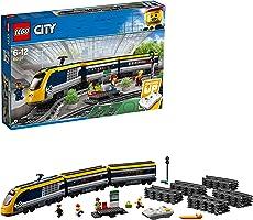 لعبة قطار سيتي باسنجر متعدد الالوان من ليغو سيتي - 60197