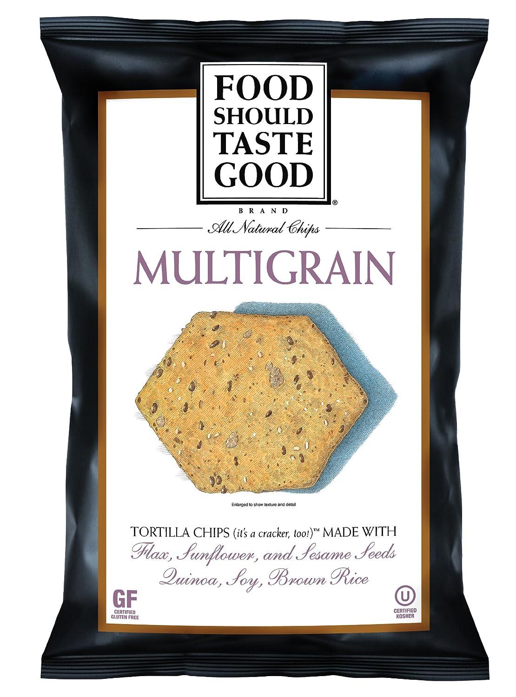 FoodShouldTasteGood Multigrain Tortilla Chips Max 84% OFF Regular discount 1.5-Ounce P Bags