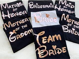 Bachelorette Party Shirts - Bachelorette Party - Team Bride - Disney Bride - Bachelorette Tanks - Bridal Party Shirts