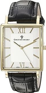 Christian Van Sant Men's CV8512 Year-Round Analog Quartz Black Watch