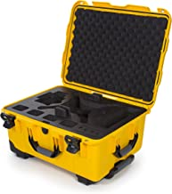 Nanuk DJI Drone Waterproof Hard Case with Wheels and Custom Foam Insert for DJI Phantom 4/ Phantom 4 Pro (Pro+) / Advanced (Advanced+) & Phantom 3 - 950-DJI44 Yellow