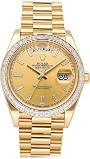 Day-Date Mechanical (Automatic) Champagne Dial Mens Watch 228398TBR (Certified Pre-Owned)