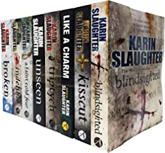 Karin Slaughter Will Trent and Grant County 8 Books Collection Set (Kisscut, Indelible, Blindsighted, Broken, Like a Charm...