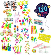 Birthday Party Favors For Kids Pack of 120 Pcs - Bulk Toys Assortment | Goodie Bag Fillers and Stuffers | Pinata Filler Toys | Treasure Box Prizes for Classroom