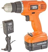 BLACK+DECKER Cordless Drill, NiCad Drill/Driver, 9.6-Volt (GC960)