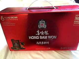 Hong Sam Won Korean Red Ginseng Drink - 50.7 Oz - Pouches/ Giftset