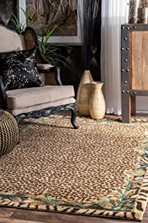 nuLOOM Skin Contemporary Leopard Area Rug, 5' x 7' 5