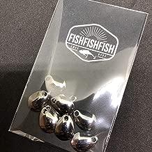 【FISHFISHFISH】コロラドブレード 10枚セット (Sサイズ) メタリック カラー/ルアー改造 メタルジグ スピナー スピンテール用 ブレードのみ