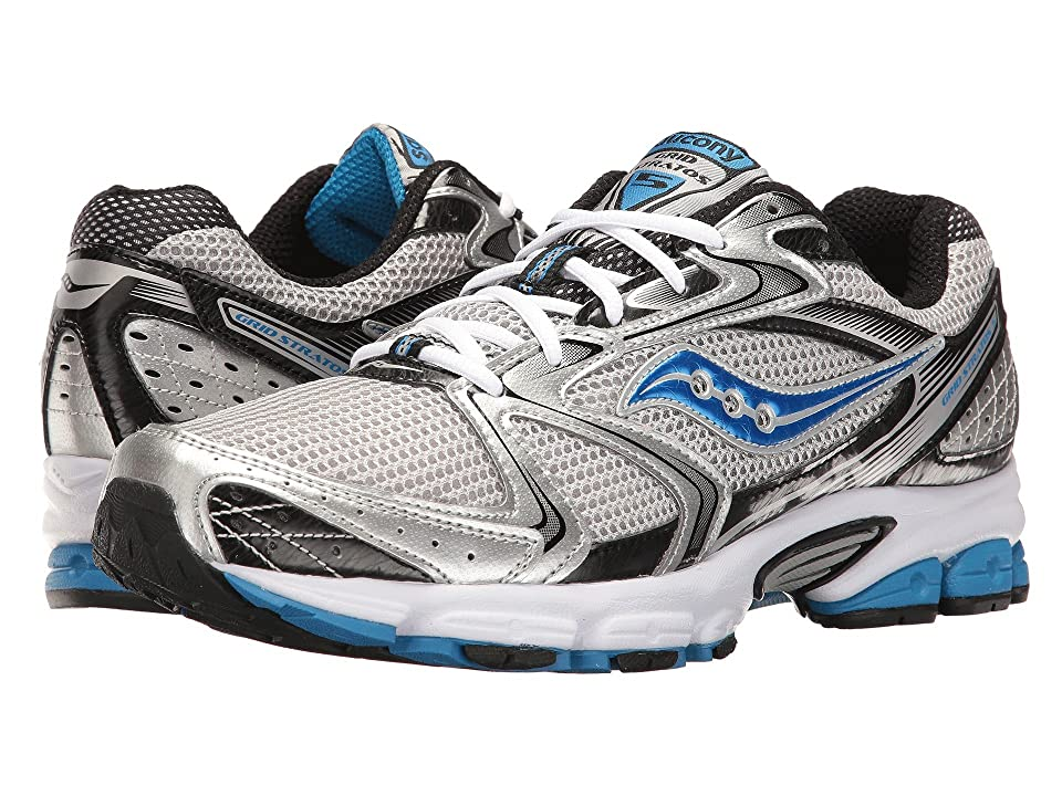Saucony Grid Stratos 5 (Silver/Black/Royal) Men