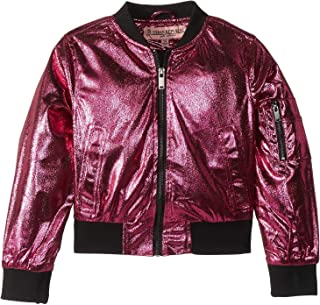 Womens Ziggy Metallic Bomber Jacket (Little Kids/Big Kids)