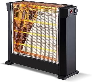 Calefactor halógeno con 4 barras cuarzo potencia máx 2200W y termostato ajustable HEATY 2760 Purline