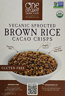 One Degree Cereal Rice Cacao Crisp, 10 oz