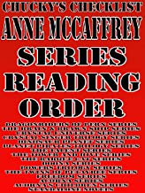 ANNE McCAFFREY: SERIES READING ORDER: CHUCKYS CHECKLIST [Dragonriders Of Pern Series, The Brain Brawn Ship Series, Crystal...